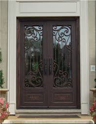 wrought iron front doorsCustom Wrought Iron Doors  Tuscan Iron Entries