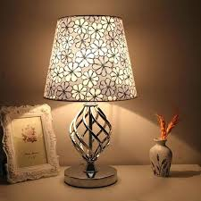 unique table lamps unique floor lamps glass bedside grey table bedroom standard nightstand short touch