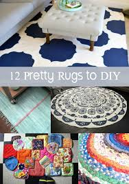 Diy Rug Diy Rug 12 Options For Covering Your Floors Diycandycom