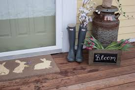 how to decorate your front door with easter decor discover a by world