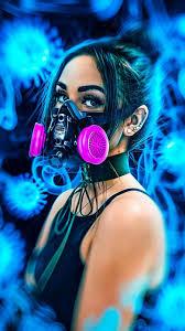 Neon Smoke Girl Wallpaper – Nice Girl ...