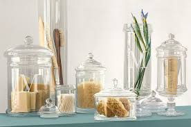 tuesdays tips apothecary jars as chic storage 4 kitch bathroom glass