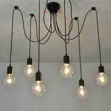 Industrial Kitchen Lights Kitchen Lighting Industrial Kitchen Lighting Pendant With 6 Bulbs