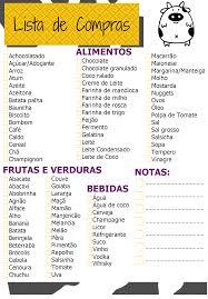 Lista De Compras Supermercado Lista De Compras De Supermercado Como Fazer Lista De Compras