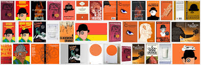 a clockwork orange book cover redesign research into previous book covers