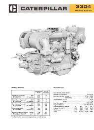 cat 3304 and 3306 workshop manual, spec sheet Cat Marine Wiring Diagrams image cat 3304 spec sheet page1 caterpillar 3126 marine wiring diagrams