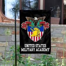 united states military academy garden flag is 13x18 inches in size is made of 2