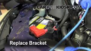 battery replacement 2006 2007 chevrolet monte carlo 2006 8 secure battery replace the bracket to secure the new battery