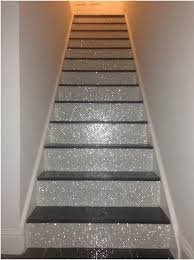 diy glitter furniture. glitter stairs diy furniture