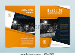 Orange Flyer Flyer Brochure Design In A4 Size For Your Business Download Free