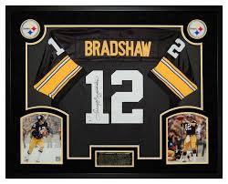 Steelers Bedroom Jack Lambert Autographed Signed Pittsburgh Steelers Framed Jersey
