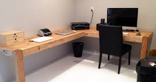 diy cool home office diy. Stylish DIY Home Office Desk With Build Plans Diy Free Download Steel Pergola Cool