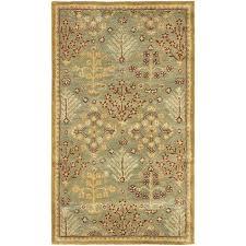 rugs runners handmade tree of life slate blue wool runner rug wool rug runners