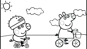 Peppa Pig Coloring Pages To Print Pig Coloring Pages View Pig
