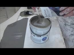 silver effect paint glitter you