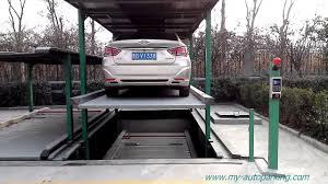 Car Parking Lift Design Pjs 3 1 Automatic Pit Design Car Parking Lift System For 4