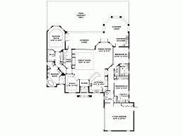 kitchen room mediterranean house plans