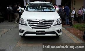 new car launches planned in indiaToyota Innova facelift launching in India in 1520 days