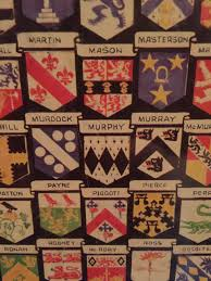 Chart Of Coats Of Arm Taken In A Pub In Ketchum Idaho
