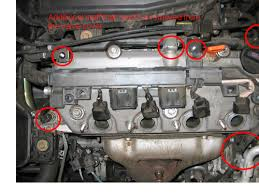 2003 civic timing belt diy honda civic forum remove two 10 mm bolts or nuts 11 release wire harness from a small plastic clip 12 slide the alternator wiring under the a c tubing
