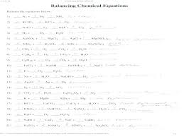 balancing chemical equations worksheet 1 answer key super unique practice critical lab answers writing and bala