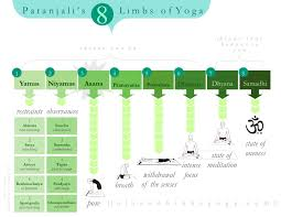 8 Limbs Of Yoga Chart Patanjalis 8 Limbs Chart Fantastic Visual Primer If You