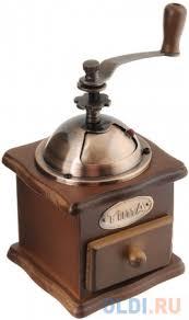 <b>Кофемолка TimA SL 008</b> ручная коричневый — купить по лучшей ...