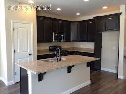 white brown colors kitchen breakfast. Kitchen Colors With Dark Brown Cabinets Patio Wall White Breakfast W
