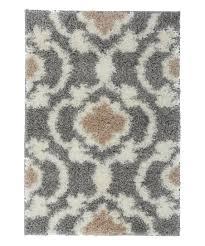 gray cream moroccan trellis florida rug