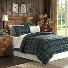 green plaid comforter. Exellent Plaid Premier Comfort Sutherland Green Plaid Microfiber Down Alternative King  Comforter Mini Set In L