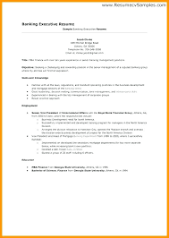 Resume Format For Banking Jobs Sample Resume For Bank Jobs With No Experience Mulhereskirstin Info