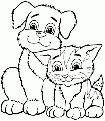 Small Picture Animal Coloring Pages Toddlers Coloring Home