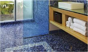 mosaic tile borders cozy glass tile shower floor beautiful the pros and cons mosaic glass