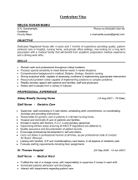 Resume Examples Sample For Cna Nursing Assistant With Nurses