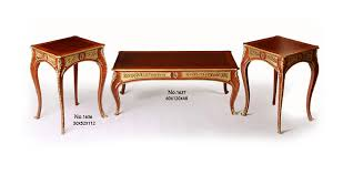 french style coffee tables center