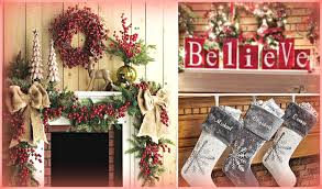 Mantel Decor For Christmas christmas mantel decorating ideas | holiday  decorating ideas - youtube