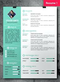 Photoshop Resume Template Free Free Creative Resume Templates For