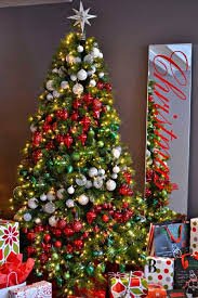 perfect beautiful decorated christmas trees tittle - Xmas Trees Decorated