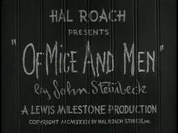 section one of mice and men homework questions due th 1