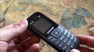 Samsung E1207t Review - مراجعة هاتف ...