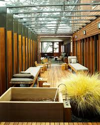japanese soaking tub outdoor outstanding porch modern with wood slat patio zen decorating ideas 33