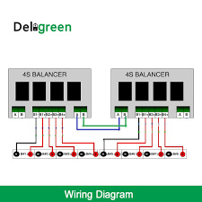 qnbbm 4s 12v active battery equalizer 4s Lipo Wiring Diagram Lipo Battery Wiring Diagram 6S10p