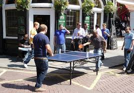 outdoor table tennis ping london
