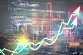 Code Stock Chart Software Development Programming Code Abstract Technology