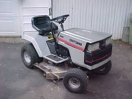 old sears riding lawn mowers. old craftsman 6 speed sears riding lawn mowers