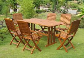 Outdoor Wooden Table And Chairs Arunthainaturalcom