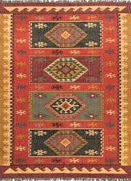 southwestern area rug rugs charming lodge rectangle88
