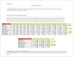 Monthly And Yearly Budget Template 3 Year Budget Template