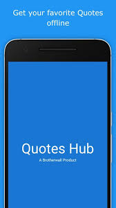Quotes Hub For Android APK Download Fascinating Quotes Hub