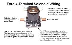 ford starter motor wiring diagram wiring diagram starter solenoid wiring diagram chevy wire